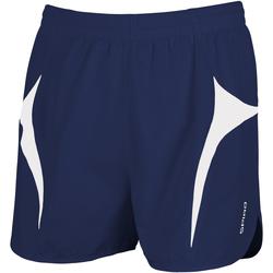 textil Hombre Shorts / Bermudas Spiro S183X Azul marino/ Blanco