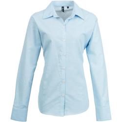 textil Mujer Camisas Premier PR334 Azul claro
