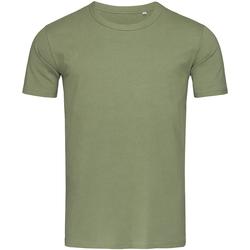 textil Hombre Camisetas manga corta Stedman Stars Morgan Verde Militar