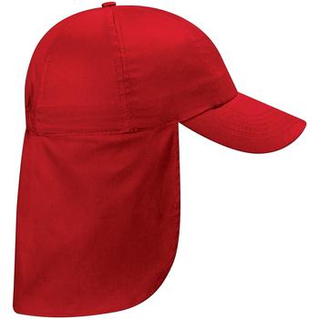 Accesorios textil Niños Gorra Beechfield BC11B Rojo