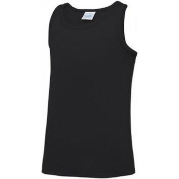 textil Niños Camisetas sin mangas Awdis JC007B Negro Intenso
