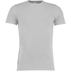 textil Hombre Camisetas manga corta Kustom Kit KK504 Gris Jaspeado Claro