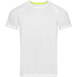 textil Hombre Camisetas manga corta Stedman  Blanco