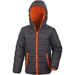 textil Niños Plumas Result R233JY Negro/Naranja