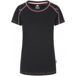 textil Mujer Camisetas manga corta Trespass Mamo Negro/Coral neón