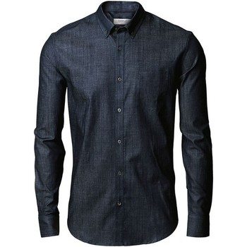textil Hombre Camisas manga larga Nimbus Torrance Azul índigo