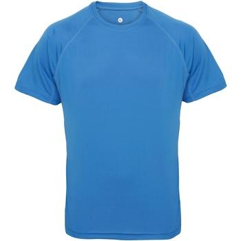 textil Hombre Camisetas manga corta Tridri TR011 Zafiro
