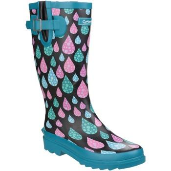 Zapatos Mujer Botas de agua Cotswold Burghley Gotas