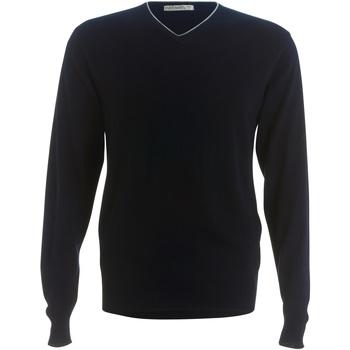 textil Hombre Jerséis Kustom Kit KK358 Marino/Gris plateado