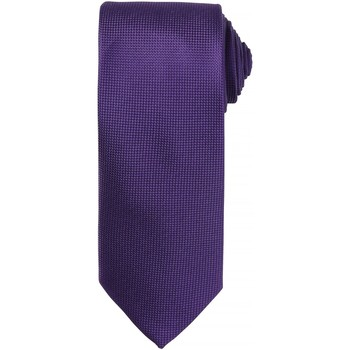 textil Hombre Corbatas y accesorios Premier PR780 Púrpura