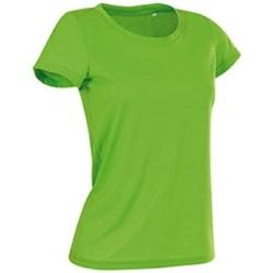 textil Mujer Camisetas manga corta Stedman Cotton Touch Verde Kiwi