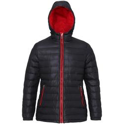 textil Mujer Plumas 2786 TS16F Negro/Rojo