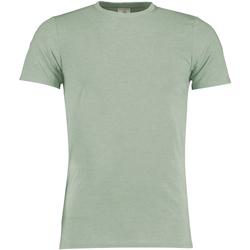 textil Hombre Camisetas manga corta Kustom Kit KK504 Salvia Jaspeado