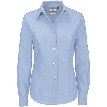 textil Mujer Camisas B And C SWO03 Azul claro