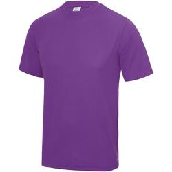 textil Hombre Camisetas manga corta Awdis JC001 Magenta
