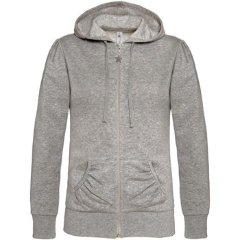 textil Mujer Sudaderas B And C WW641 Gris