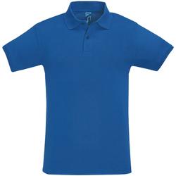 textil Hombre Polos manga corta Sols 11346 Azul Real