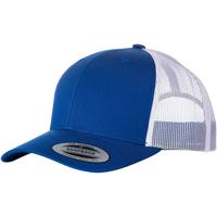 Accesorios textil Gorra Yupoong YP023 Azul Real Fuerte/Blanco