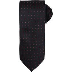 textil Hombre Corbatas y accesorios Premier Dot Pattern Negro/rojo