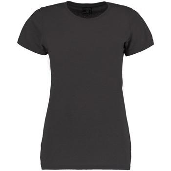 textil Mujer Camisetas manga corta Kustom Kit Superwash Negro mezcla