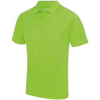 textil Hombre Polos manga corta Awdis JC040 Verde eléctrico