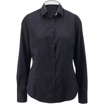 textil Mujer Camisas Alexandra AX060 Negro/Blanco