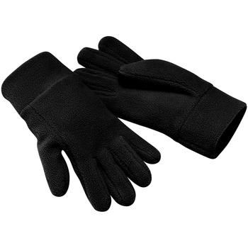Accesorios textil Guantes Beechfield Alpine Negro