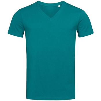 textil Hombre Camisetas manga corta Stedman Stars  Azul Pacífico