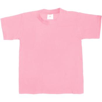 textil Niños Camisetas manga corta B And C TK301 Rosa pálido