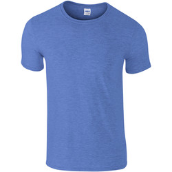 textil Hombre Camisetas manga corta Gildan Soft-Style Real Jaseado