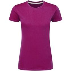 textil Mujer Camisetas manga corta Sg Perfect Rosa Fuerte