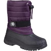 Zapatos Niños Botas de nieve Cotswold Icicle Violeta