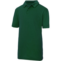 textil Niños Polos manga corta Awdis JC40J Verde