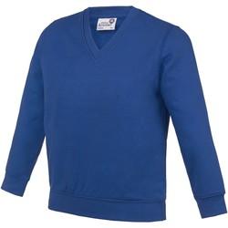 textil Niños Sudaderas Awdis  Azul intenso