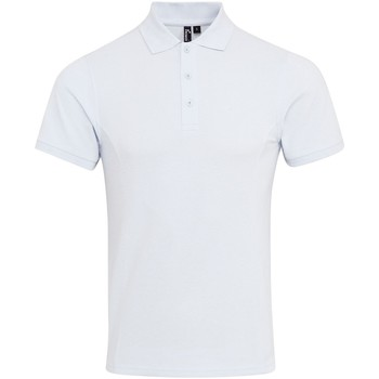 textil Hombre Polos manga corta Premier PR630 Blanco