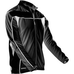 textil Hombre Chaquetas de deporte Spiro S255M Negro/Blanco
