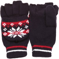 Accesorios textil Mujer Guantes Universal Textiles Patterned Azul marino/ Rojo