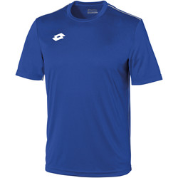textil Niños Camisetas manga corta Lotto LT26B Azul real/Blanco