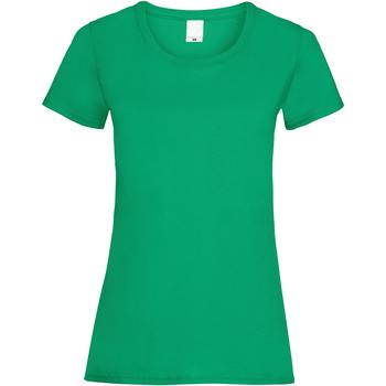 textil Mujer Camisetas manga corta Universal Textiles 61372 Verde