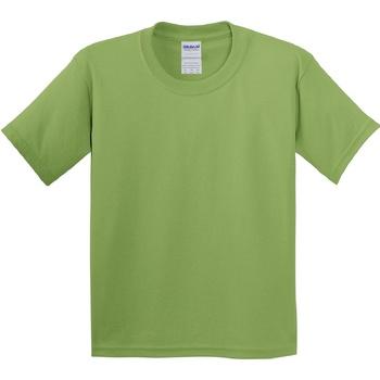 textil Niños Camisetas manga corta Gildan 5000B Verde kiwi