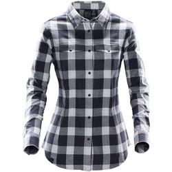 textil Mujer Camisas Stormtech SFX-1W Trenza Titanio