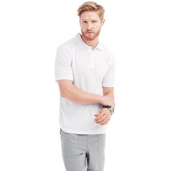 textil Hombre Polos manga corta Stedman  Blanco