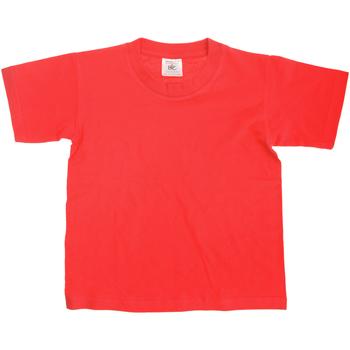 textil Niños Camisetas manga corta B And C TK300 Rojo