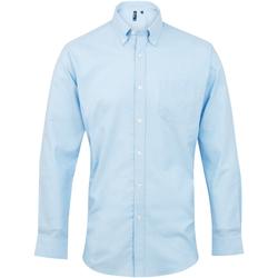 textil Hombre Camisas manga larga Premier PR234 Azul claro