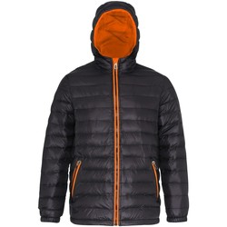 textil Hombre Plumas 2786 TS016 Negro/Naranja