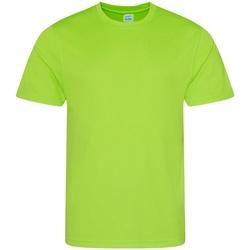 textil Hombre Camisetas manga corta Awdis JC001 Verde Eléctrico