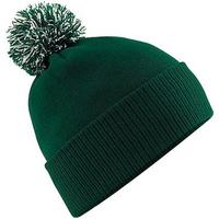 Accesorios textil Niña Gorro Beechfield Snowstar Verde botella/blanco