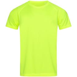 textil Hombre Camisetas manga corta Stedman  Amarillo Cyber