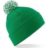 Accesorios textil Niña Gorro Beechfield Snowstar Verde Kelly/Blanco