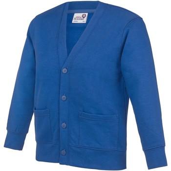 textil Niños Chaquetas de punto Awdis Academy Azul eléctrico